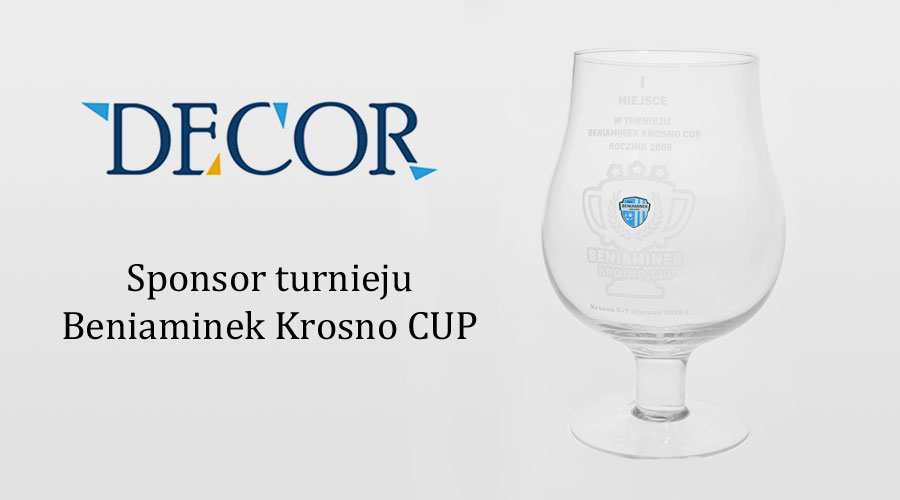 Zostaliśmy sponsorem pucharów w turnieju Beniaminek Krosno Cup 2018