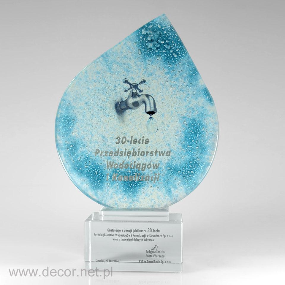 Statuetka jubileuszowa, prezent na 30 lecie firmy, rocznicę firmy
