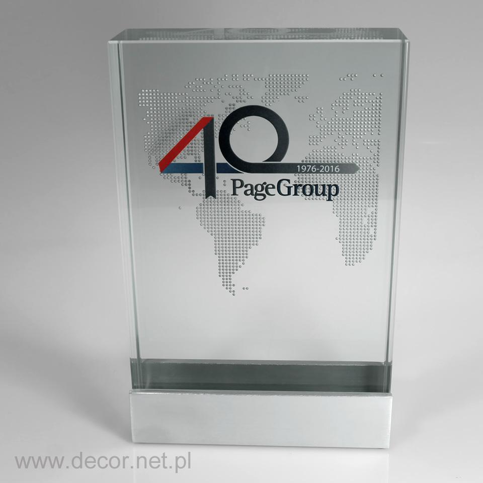 Statuetka jubileuszowa, prezent na 40 lecie firmy, rocznicę firmy