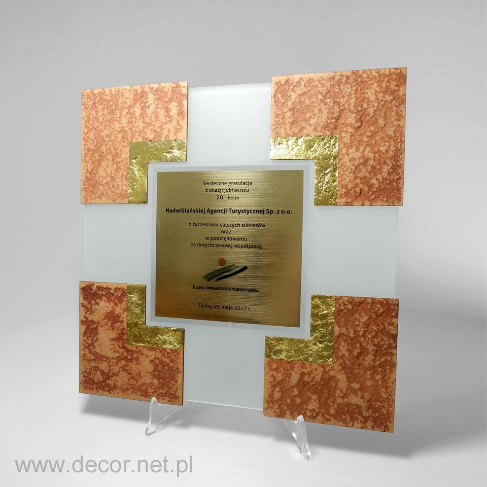 dyplom jubileuszowy, prezent na 20 lecie firmy, rocznicę firmy