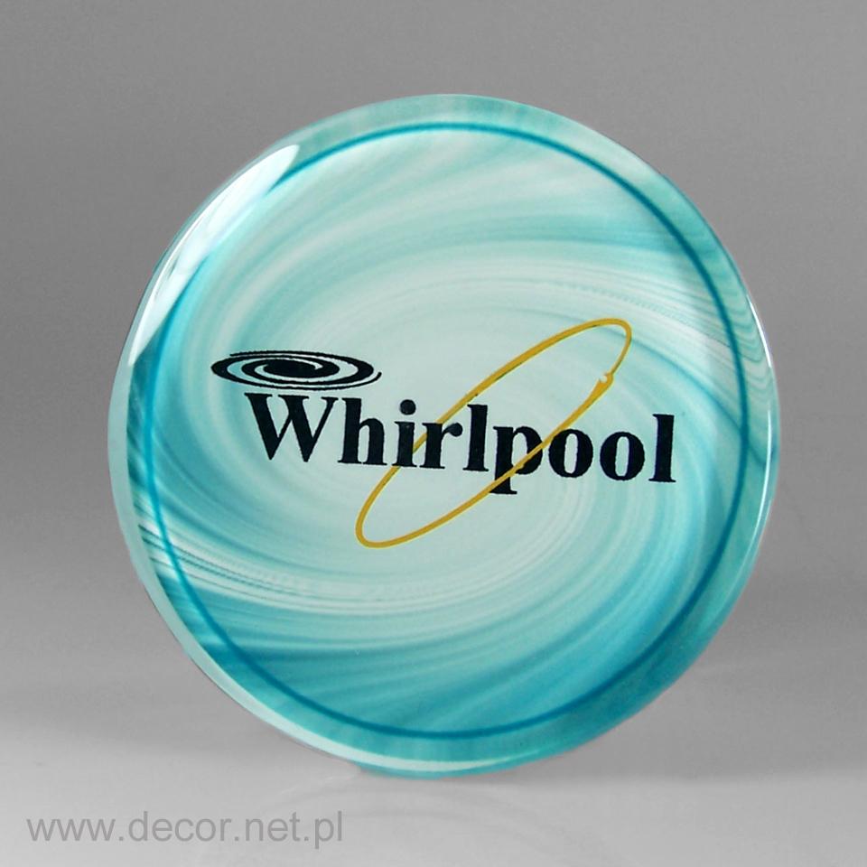 Magnesy szklane z logo firmy