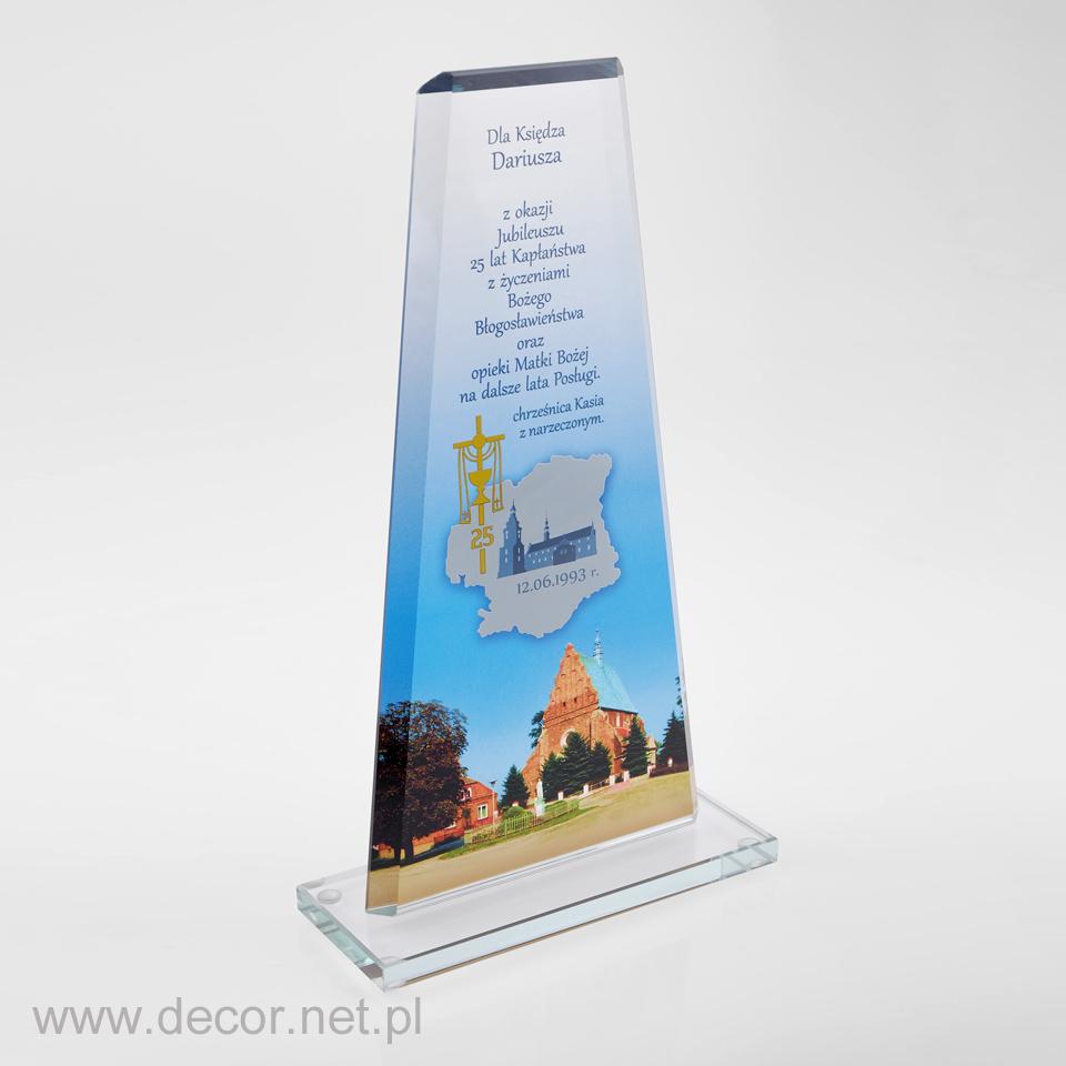 Statuetka - Prezent dla księdza z okazji 25-lecia kapłaństwa - Pamiątka