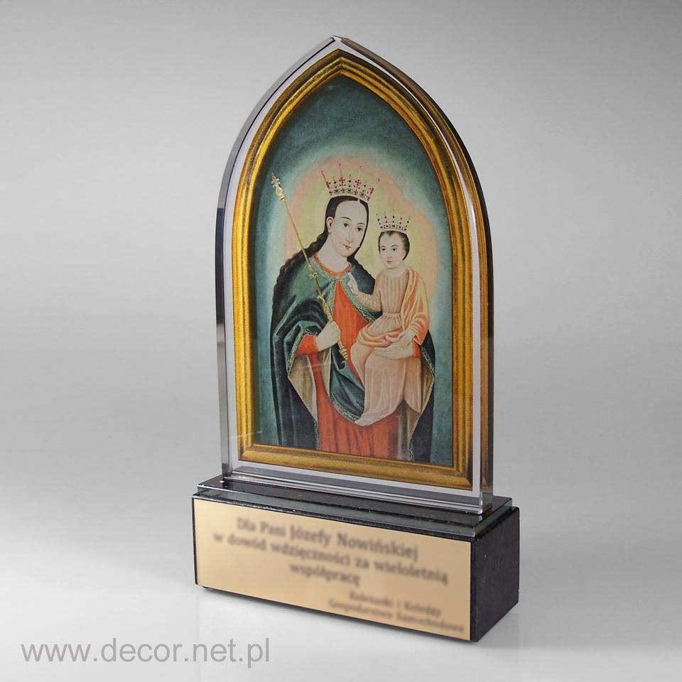 Statuetka - Matka Boża Murkowa - Krosno