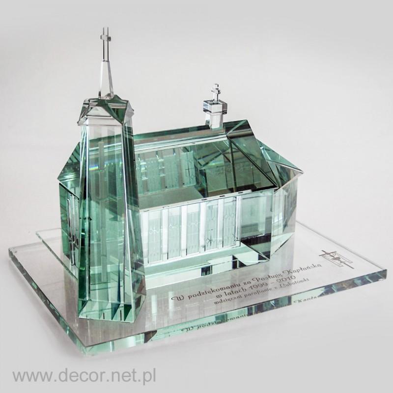 Prezent dla Księdza szklany kościół