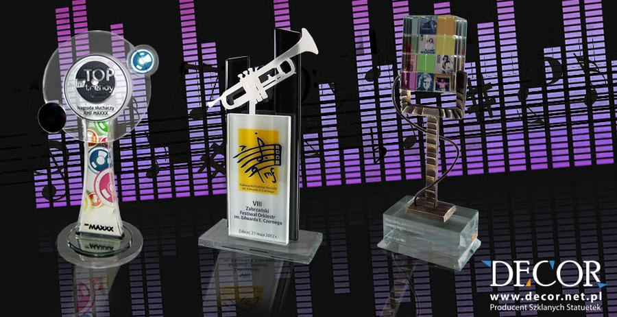 Statuetki muzyczne - nagrody na zamówienie