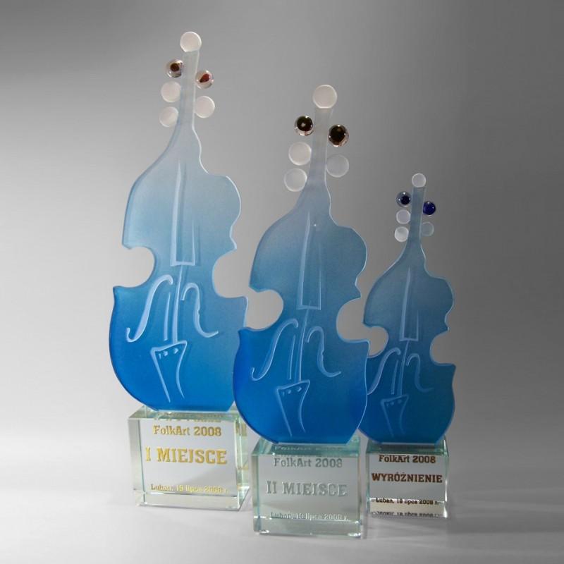 Statuetka wiolonczela - nagroda muzyczna