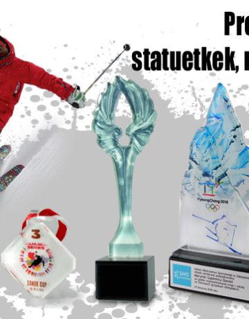 Nagrody i trofea na zawody zimowe   medale, puchary, statuetki