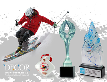 Nagrody i trofea na zawody zimowe | medale, puchary, statuetki