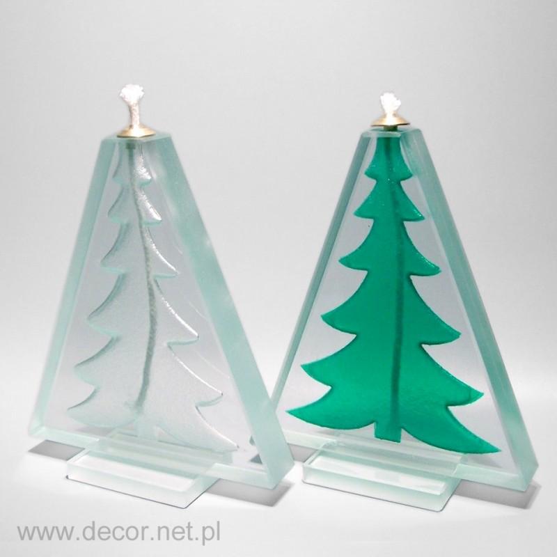 Świąteczna lampka oliwna na zamówienie