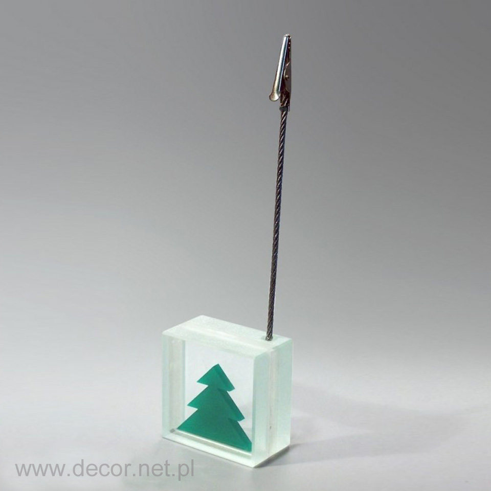 Przypominacz szklany, świąteczny upominek dla pracowników
