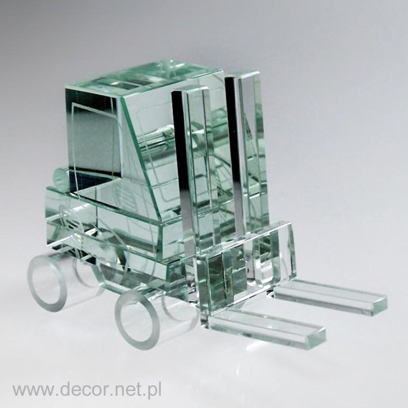 Model wózka widłowego ze szkła M-WID-1