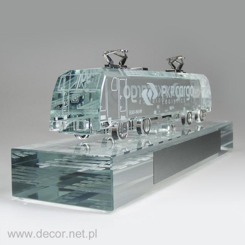 Szklana lokomotywa M-PKP Cargo