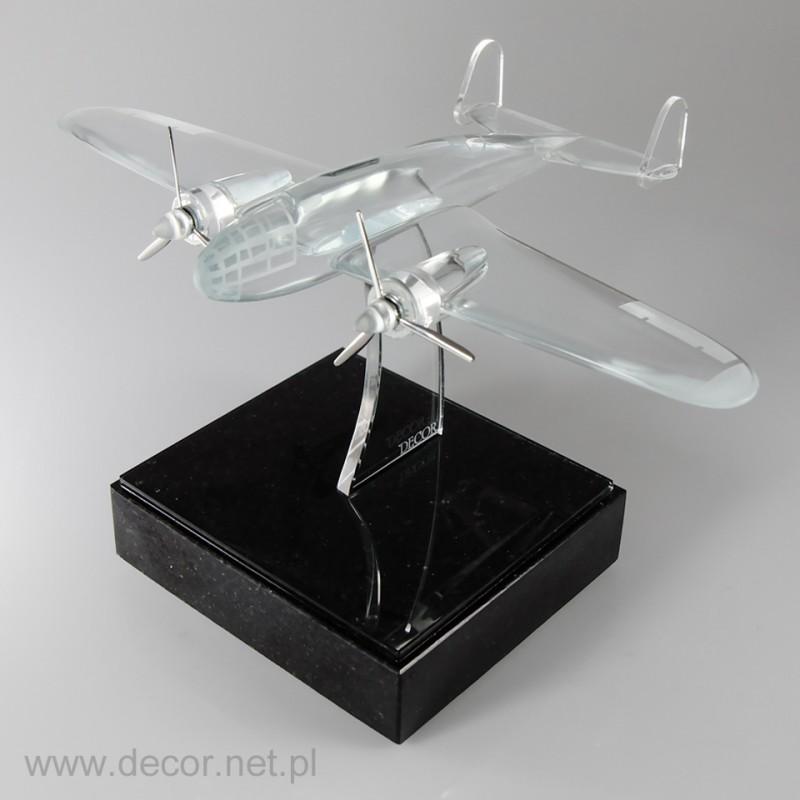 Szklany model Samolotu Łoś