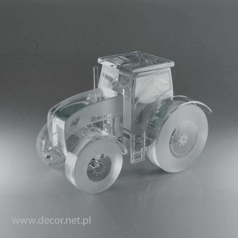 Traktor ze szkła M-SAM-11