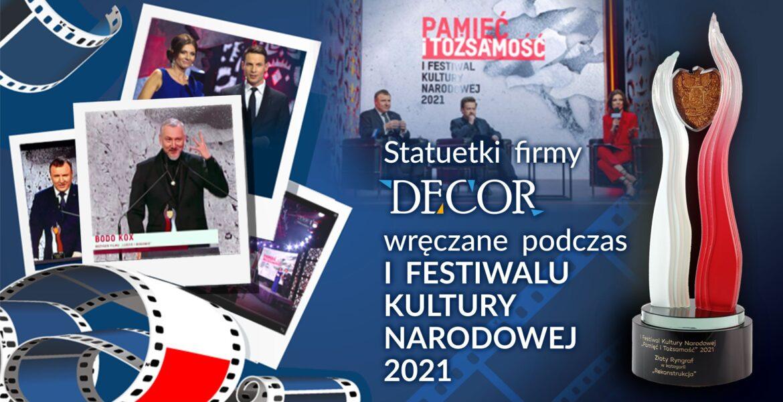 """DECOR w TVP - Gala festiwalu """"Pamięć i Tożsamość"""""""